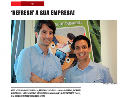"F5it featured in Público newspaper supplement ""Innovation and strategy"""