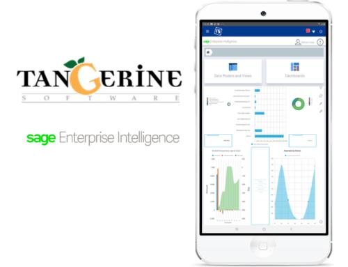 Sage Enterprise Intelligence integrated with the upcoming Sales V3 app