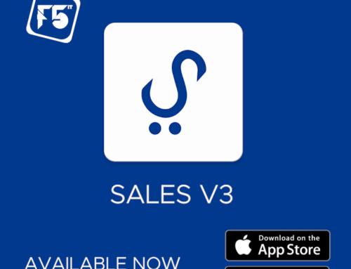 SALES V3 – Lançamento Oficial da nova aplicação da F5IT